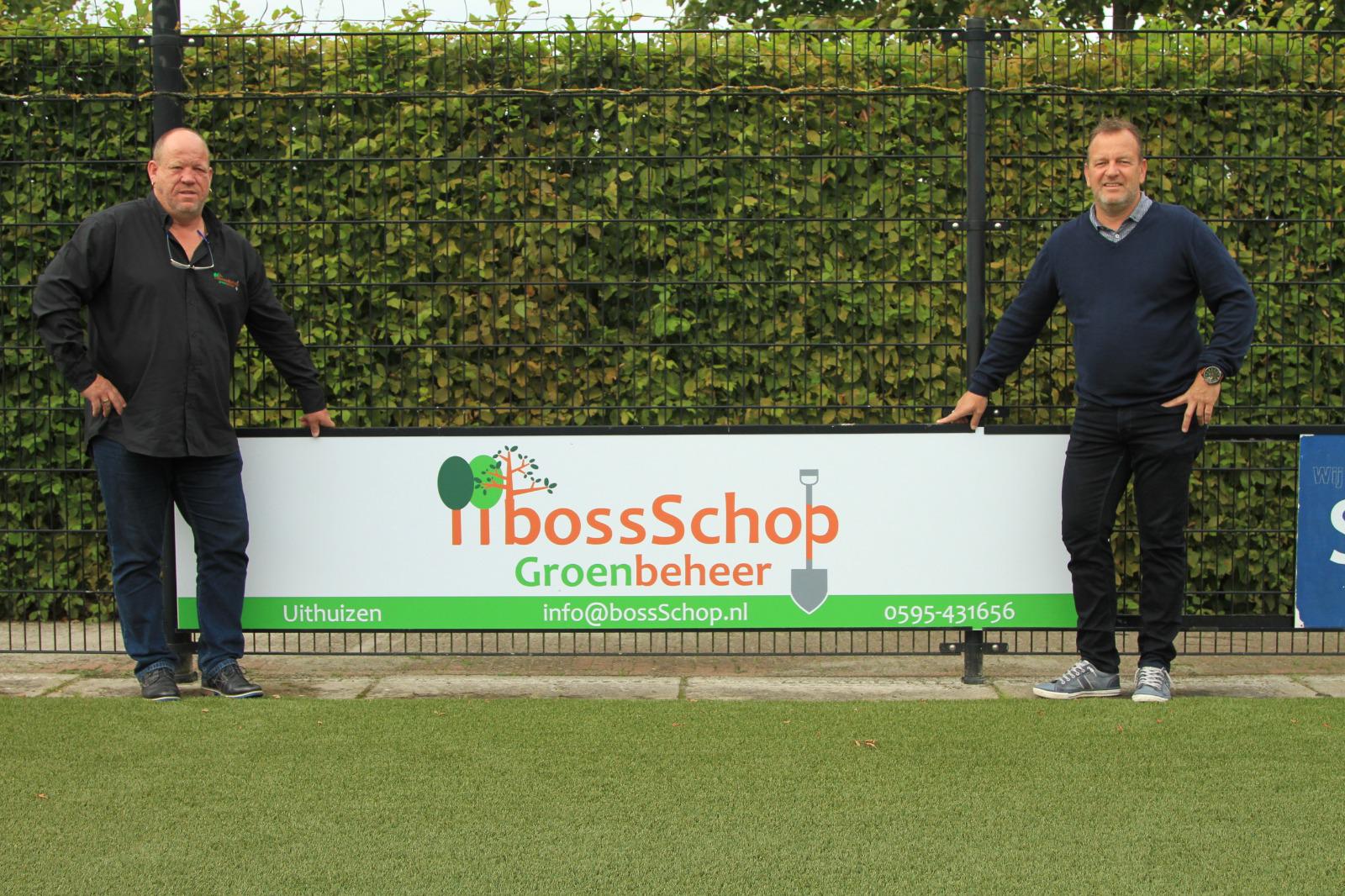 BossSchop Groenbeheer voor 5 jaar sponsor Noordpool-U.F.C.
